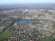 Aerial photograph of Aldershot