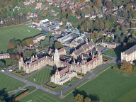 Aerial photograph of Charterhouse school, Godalming