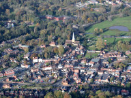 Godalming aerial photograph