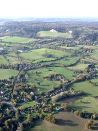 Aerial photograph of Fields north-west of Reigate