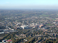 Aerial photograph of Redhill