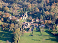 Aerial photograph of Church near Godstone