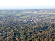 Aerial photograph of Oxted