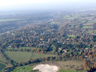 Aerial photograph of Warlingham
