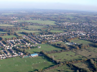 Aerial photograph of View north from Warlingham