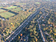 Aerial photograph of Whyteleafe