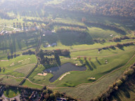 Aerial photograph of Golf course north of Caterham