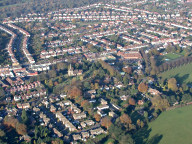 Aerial photograph of Banstead