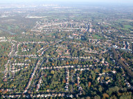 Aerial photograph of View north from Banstead