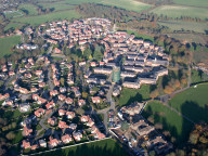 Aerial photograph of Netherne on the Hill