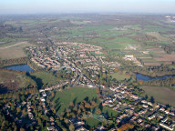 Aerial photograph of Godstone