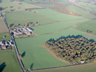Aerial photograph of Farm south of Tandridge