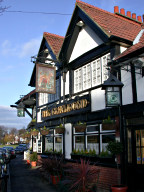The Greyhound pub, Weston Green