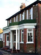 The Cricketers on the Green pub, Weston Green