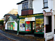 Angling shop, Weston Green