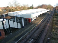 Train station, Hinchley Wood
