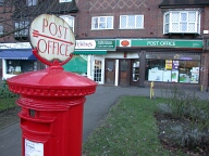 Post office, Hinchley Wood