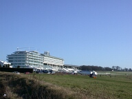 Racecourse grandstand, Epsom Downs