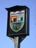 Village sign, Kingswood