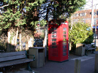Telephone box, East Horsley