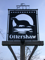 Village sign, Ottershaw