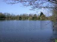 Coxes Lock mill pond, Addlestone