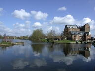 Coxes Lock and mill pond, Addlestone