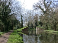 Footbridge, Pyrford