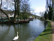 River Wey south of Guildford, Guildford