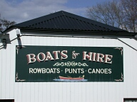 Farncombe boat house sign, Farncombe