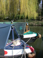 Narrow boats, Farncombe