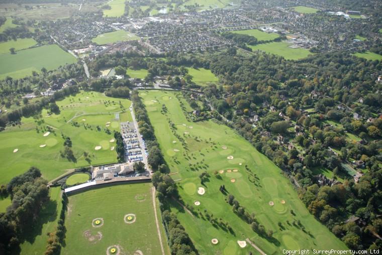 woking aerial photos