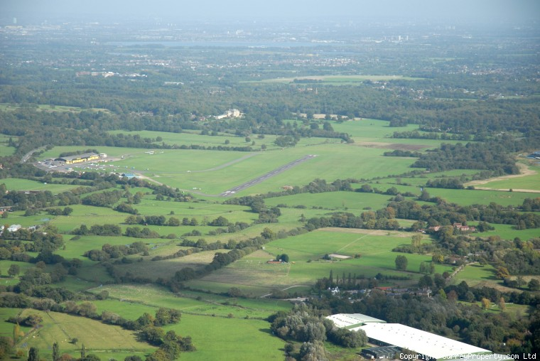 knaphill aerial photos