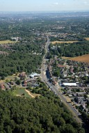 Aerial photograph of Burgh Heath