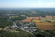 Aerial photograph of Burgh Heath