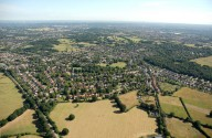 Aerial photograph of Claygate