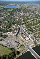 Aerial photograph of East Molesey