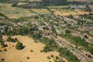 Aerial photograph of Sunbury