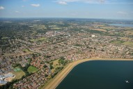 Aerial photograph of Reservoir and Walton