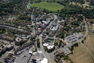 Aerial photograph of Cobham