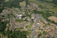 Aerial photograph of Ottershaw