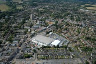 Aerial photograph of Addlestone