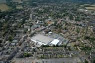 Aerial photograph of Addlestone