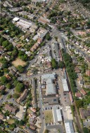 Aerial photograph of Shepperton
