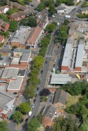 Aerial photograph of Shepperton town centre