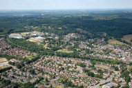 Aerial photograph of Bagshot