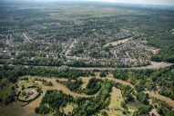 Aerial photograph of Lightwater