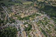 Aerial photograph of Windlesham