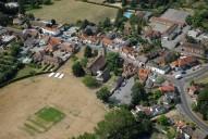 Aerial photograph of Chobham village centre
