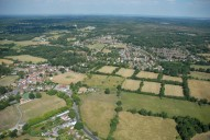 Aerial photograph of Chobham
